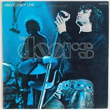 THE DOORS: Absolutely Live USA Elektra Butterfly 2x LP Jim Morrison ROCK VG++