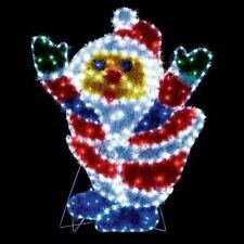 Indoor/Outdoor Christmas Silhouette Lights