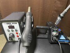 X-Tronic USA Soldering Iron & VivoHOME Hot Air Rework/Desolder Station (Bundle)