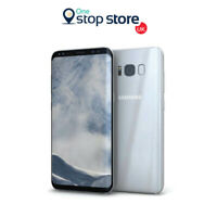 Samsung Galaxy S8 Arctic Silver 4G LTE 64GB Unlocked Sim Free Android Smartphone