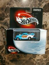 HTF L@@K 100% Hot Wheels 1937 CHEVY Pro Stock Street Outlaws with Stand