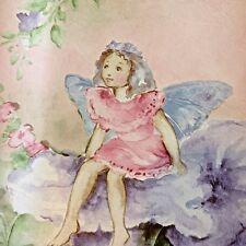 GARDEN FAIRIES Wallpaper Border 2 Rolls  Home Trends Kids 30ft Pastel Colors