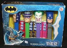 Batman Pez Collector's Set - Joker, Two-Face, the Riddler (Sealed)
