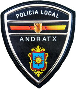 Policía Local Andratx Police Dept parche insignia emblema texflex EB01635