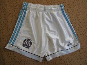 Short Adidas Olympique de Marseille OM Blanc Vintage Football soccer - 40 / S
