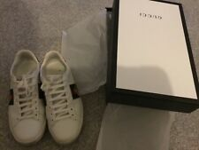 Gucci Womens Ace Trainers - Authentic with original Gucci purchase receipts