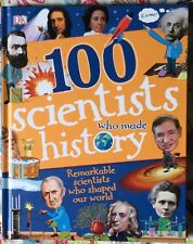 100 Scientists Who Made History by Andrea Mills c2018 NEW Hardcover