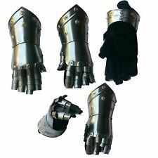 Gloves Antique Armor Steel Gothic Gauntlet Gloves Pair Medieval Armor Gloves