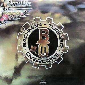 BACHMAN TURNER OVERDRIVE HEAD ON 1975 MERCURY LP VINYL RECORD ALBUM PLAY TESTED