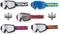 Fly Racing 2016 Zone Goggles Offroad Dirt Downhill Mountain Bike BMX MTB Racing