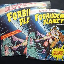 Rare! RETURN TO THE FORBIDDEN PLANET rock'n'roll stage musical LP '90 +programme