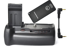 Pro Battery Grip Pack for Canon 100D Rebel SL1 + IR remote + Transferring Cable