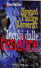 """[775] ECONOMICA TASCABILE ed. Fanucci 1997 n.  64 Lovecraft """"Incubi dalle tenebr"""