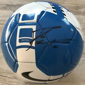 WORLD CUP!! Lionel Messi BARCELONA Signed NIKE Soccer Ball ARGENTINA Beckett BAS