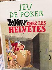 Astérix chez les Helvètes -  Jeu de Poker