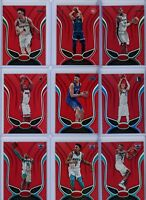 2019-20 Panini Certified Basketball Red Parallel Singles - Pick Your Players