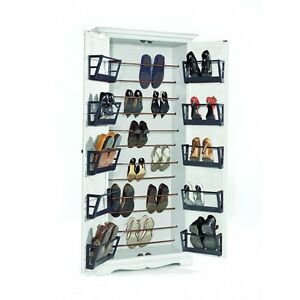 Port Shoes 11521 With 2 Door Classic White Lacquered
