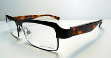 NEU ALAIN MIKLI AL1056 0002 SCHWARZ COCOBOLO Brillenfassung RX 55 16 145 mm