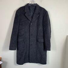 Sisley Women's Size 52 Over Coat Peacoat Jacket Gray Wool Blend