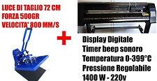 STARTER KIT 03 PLOTTER DA TAGLIO 72 CM PRESSA PER T-SHIRT XL 40x50 cm A3+ ok!