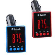 Bluetooth LCD Sin hilos Coche Reproductor de Mp3 Transmisor FM Modulador AUX USB