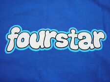 FOURSTAR CLOTHING S/S TEE ROYAL BLUE LARGE