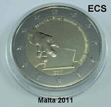 MALTA MONETA COMMEMORATIVA 2011 Wahl Der 1. DEPUTATI FDC / Bu in capsula aus KMS