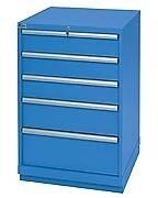 LISTA XSSC0900-0501 - SC900 5-Drawer Counter Height Cabinet, Standard Dept