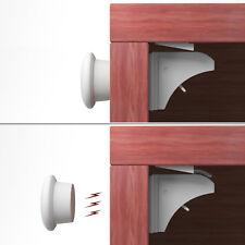 KIDUKU 4+1 Set Magnetschloss Unsichtbare Baby Kindersicherung Schrankschloss