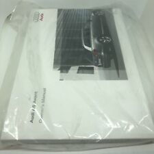 Audi A6 Avant owners manual 2008 -2011