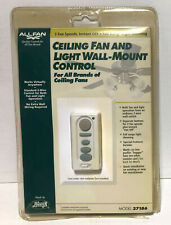 Hunter Ceiling Fan & Light Wall Mount Control 27186 NEW FAST SHIPPING