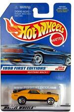 1998 Hot Wheels #670 First Edition #29 Ford Mustang Mach 1