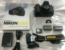 Full Pkg! 9K Shutter + Pro 8 FPS Nikon D300 12.3MP Digital SLR Camera Body Only