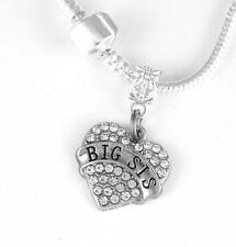 big sister jewelry big sis necklace big sista best jewelry gift big sister