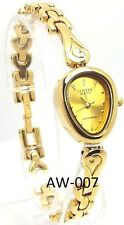 New Citizen Ladies Gold-tone, Gold Heart-dial Dress Watch