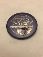 Boy Scouts Boy Scout Jamboree Hospitality House 1985 Pin back Free Shipping
