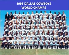 1993 DALLAS COWBOYS 8X10 TEAM PHOTO FOOTBALL PICTURE NFL SBXXVIII CHAMPS