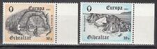 Gibraltar Nr. 463-464** Europa CEPT 1983 - St.Georgs Hall / Regenwasser Auffang.