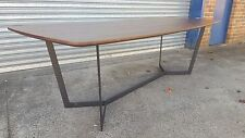 Clearance Sale ! NEW FRENCH INDUSTRIAL WOODEN DINING TABLE - T331 (240 x 100cm)