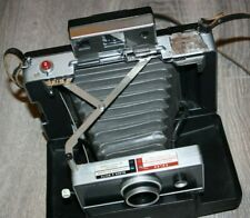 Vintage Polaroid Automatic 100 Land Camera w/Leather Strap