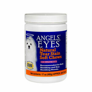 ANGELS EYES NATURAL TEAR STAIN SOFT CHEWS 240 COUNT CHICKEN 17oz