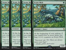 XXX 4x SCUTE MOB englisch zendikar vs. eldrazi (insect green) NM/MINT XXX XXX