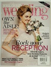 You & Your Wedding Rock your Reception Budgets March April 2016 FREE SHIPPING JB