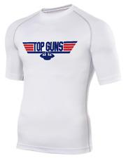 TOP GUNS- Men's Base Layer Rash Guard BJJ MMA Tshirt