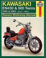 Kawasaki: EN450 & 500 Twins - '85 to '04 Haynes Service & Repair Manual