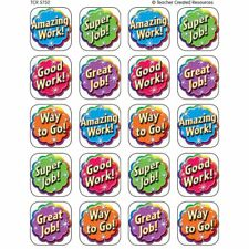 Good Work Stickers Teacher Created Resources Tcr5752