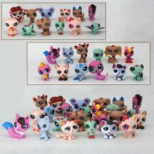 24pcs/pack Littlest Pet Shop Lot Animals Hasbro LPS Figure Toy dog Lion cat cow