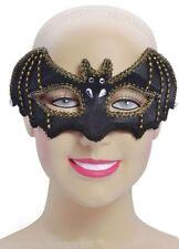 Máscaras y caretas sexy de color principal negro para disfraces