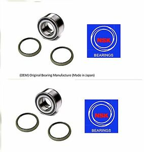 Front Wheel Hub Bearing & Seal For INFINITI G20 1999-2002 (OEM) (NSK) (PAIR)