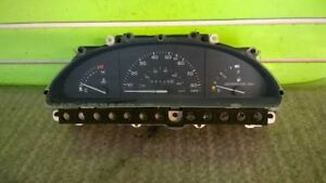 88 FORD TEMPO 2.3L AT COUPE SPEEDOMETER CLUSTER 15039 MILES OEM 1400-1